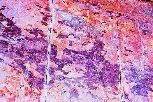 Ernst Canyon Rock Art by Nadine Berg