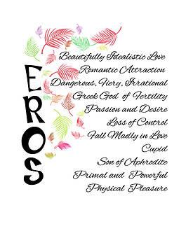 Eros-Words of Love by Judi Saunders