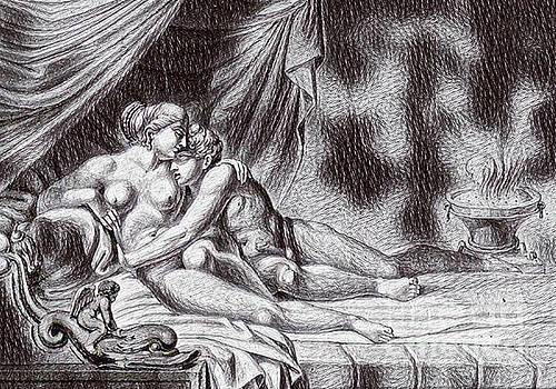Pd - Erotic Drawing Five