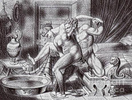 Pd - Erotic Drawing Three