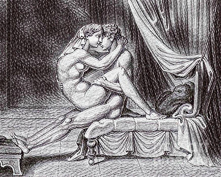 Pd - Erotic Nude Drawing One