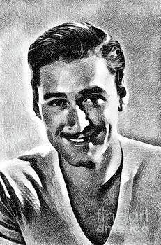 John Springfield - Errol Flynn, Vintage Actor by JS