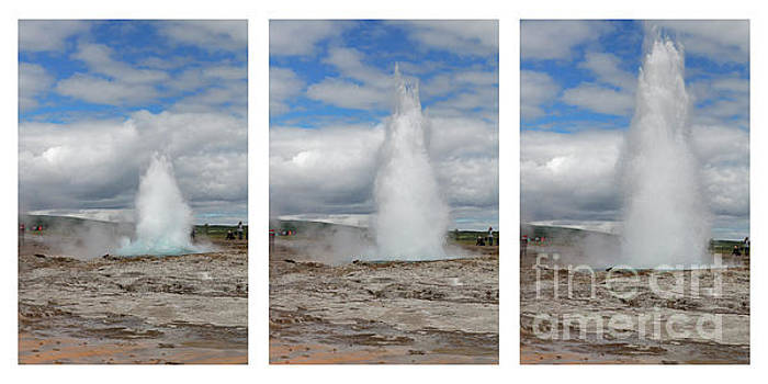 Eruption Sequence of the Geyser  by George Oze