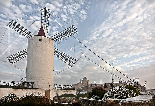 Pedro Cardona Llambias - Es Castell town Mill 2