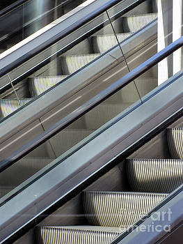 Escalator Pair by Karen Sydney