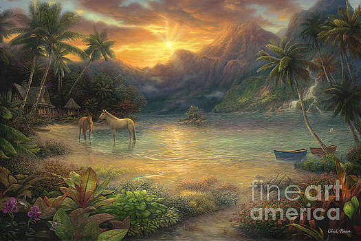 Escape to Tranquility by Chuck Pinson