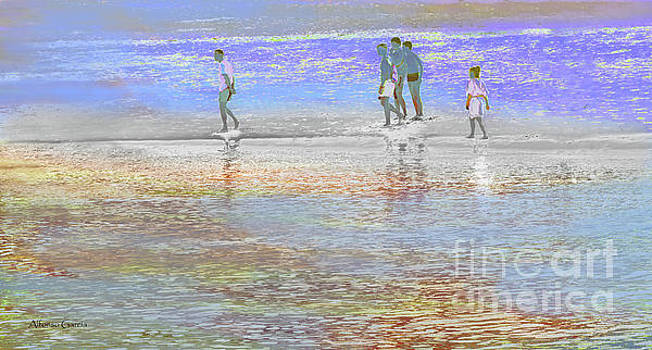 Escena de Playa by Alfonso Garcia
