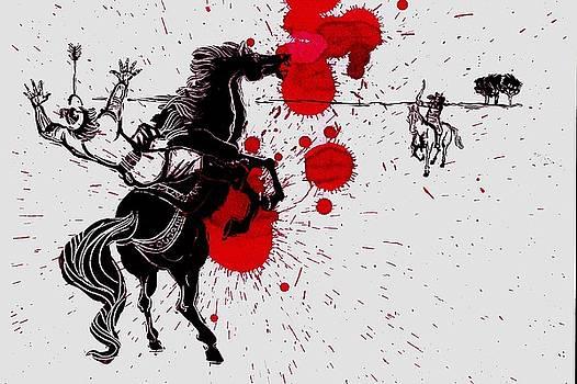 Esfandiyar's Death by Mehrdad Sedghi