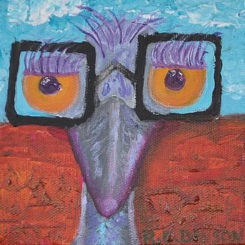 Richard Benson - Esmeralda the Emu