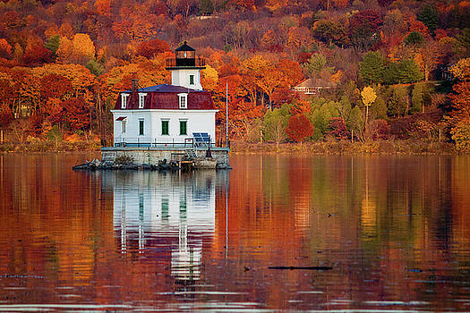 Esopus Lighthouse in Late Fall #2 by Jeff Severson