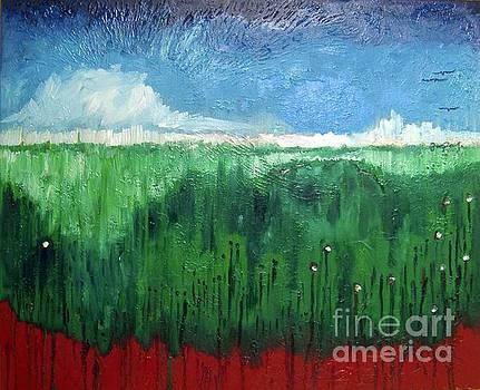 Espejismos sobre un mar de hierba by ZarZas Art