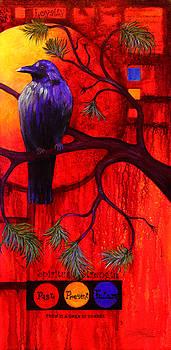 Essence of Crow - Right by Lynn Lawson Pajunen