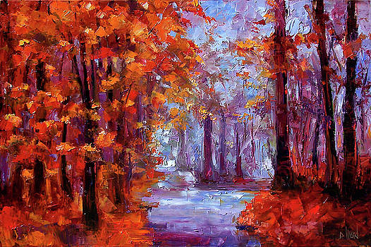 Essence Of Fall by Debra Hurd
