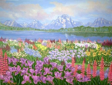 Essence Of Spring by Darlene Agner
