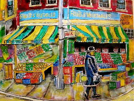 Essex Produce Market by Michael Litvack