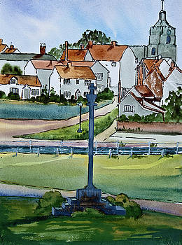 Essex Village in England by Dianne Green