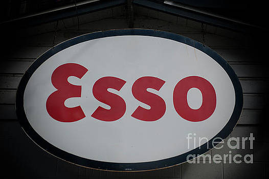 Esso Metal Sign by Dale Powell