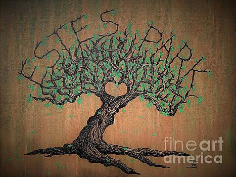 Estes Park Love Tree by Aaron Bombalicki