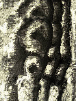 Etching Abstract by Orla Cahill