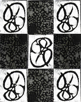 Etching as Pattern by Orla Cahill