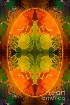Omaste Witkowski - Eternal Energies Abstract Mandala Art by Omashte