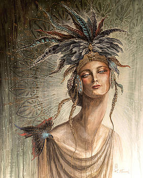 Eternal Spring - The Goddess Alma by Laura Krusemark