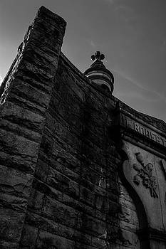 Eternal Stone Structure BW by James L Bartlett