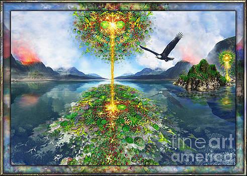 Etheric Lake by Leonard Rubins