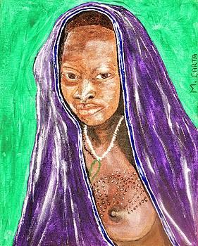 Ethiopean Woman by Mario Carta