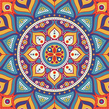 Valdecy RL - Ethnic Floral Mandala