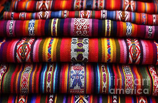 James Brunker - Ethnic South American Weavings