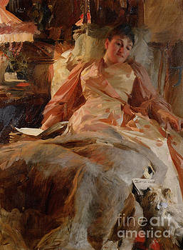Etude Eclairage by Anders Zorn