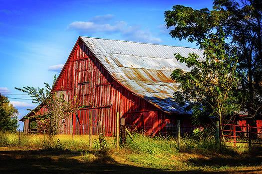 Eureka Road Barn by Barry Jones