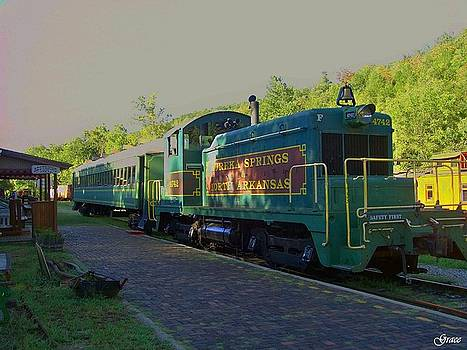 Eureka Springs Railway by Julie Grace