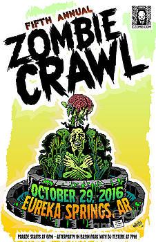 Jeff Danos and Kiko Garcia - Eureka Springs Zombie Crawl 2016