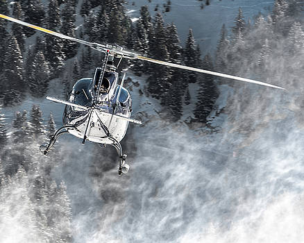 Eurocopter AS50 F-HBYE Helicopter by Roberto Chiartano