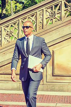 Alexander Image - European Businessman travels, works in New York