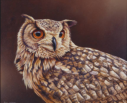 European Eagle Owl by Eric Wilson