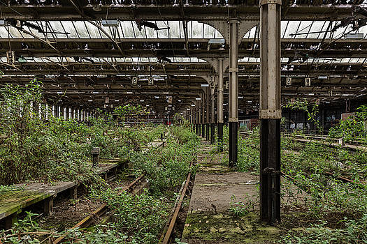 Euston Train Depot by Antony Meadley