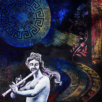 Euterpe Greek Muse by Stephen Humphries