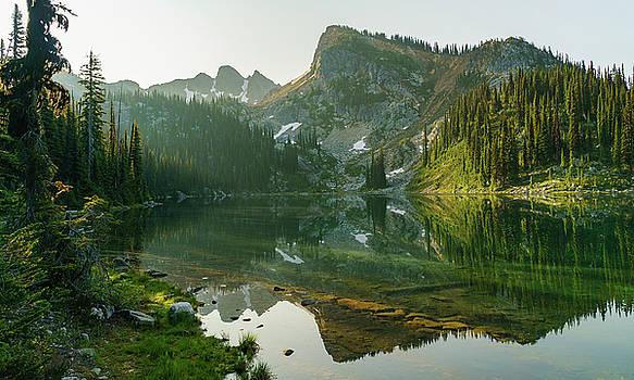 Eva Lake at Dawn by Dave Matchett