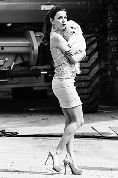 Eva Longoria by Ron Dubin