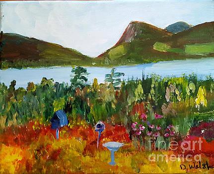 Evalines Garden by Donna Walsh