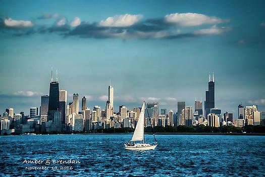 Evan's Chicago skyline  by Sven Brogren