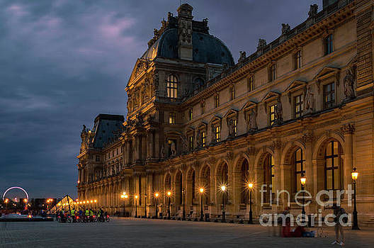 Eve at Louvre Museum, Paris,  by Sinisa CIGLENECKI