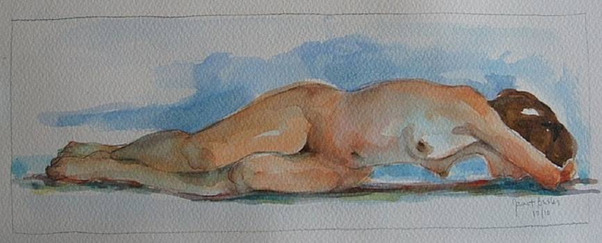 Eve Resting   by Janet Butler