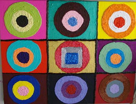 Even Squares Fit by Jeffrey Foti