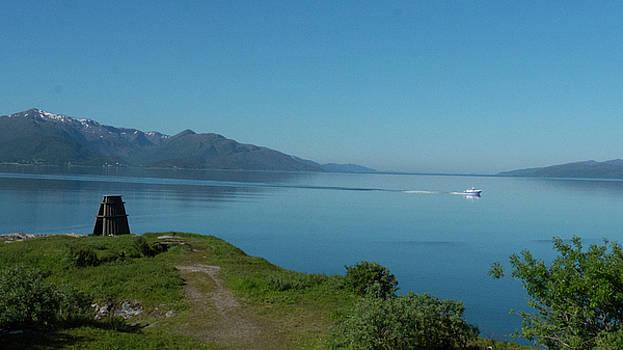 Evenes fjord by Tamara Sushko
