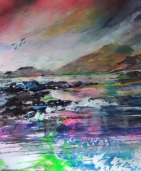 Evening Achill Island Ireland by Joyce Garvey
