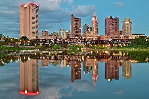 Evening Approaches in Columbus by Frozen in Time Fine Art Photography
